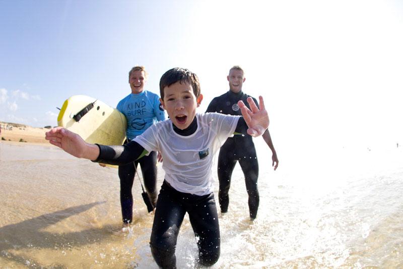 Kind Surf Jornada Quiksilver Pro Frace